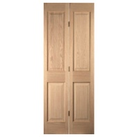Bifold Door White Oak 4Panel