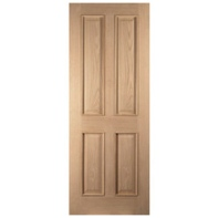 Door White Oak 4 Panel
