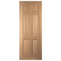 Door White Oak 6 Panel