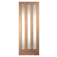 Door White Oak Glazed