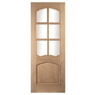 Louis Door White Oak Glazed
