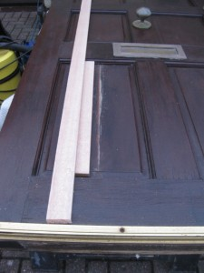 Repairing a split door panel in southampton 3
