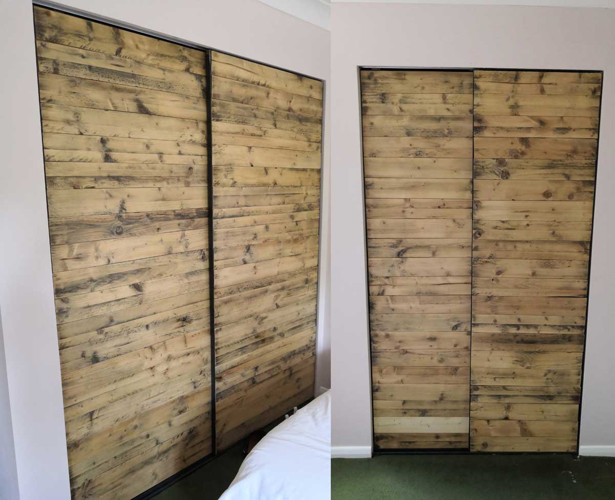 Door made of Pallets